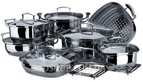 Набор посуды Vinzer KitchenArt 89029 (14 предметов)