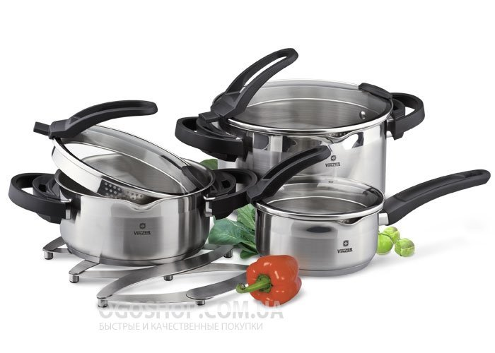 Набор посуды Vinzer Cook Art 89043 (7 предметов)