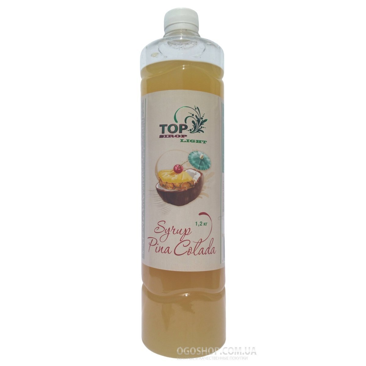 Сироп Пина-Колада Light TOP sirop (1 л)