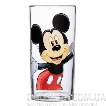 Стакан высокий Luminarc Disney Mickey Colors G9174